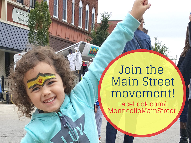 Join the Monticello Main Street Movement
